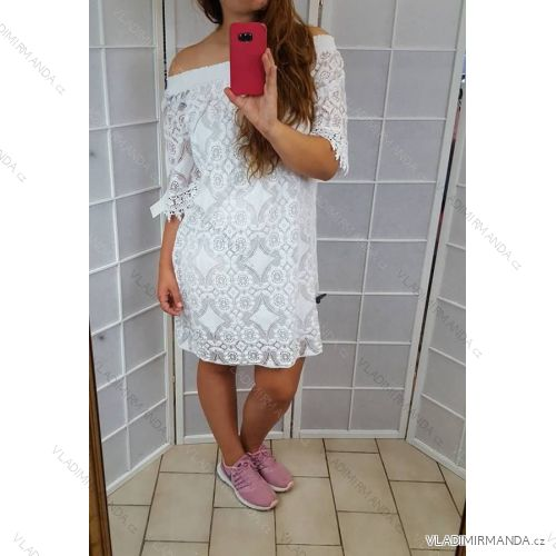 506423828c14 Šaty krajkové romantické dámska (uni sl) TALIANSKÁ MÓDA IM518062 ...