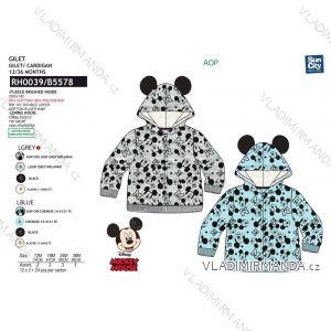Mikina mickey mouse dojčenská chlapčenská (12-36 mesiacov) SUN CITY RH0039