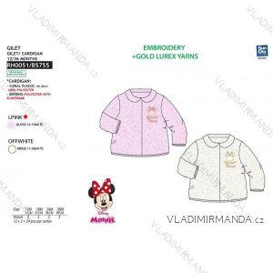 Mikina minnie mouse dojčenská dievčenské (12-36 mesiacov) SUN CITY RH0051