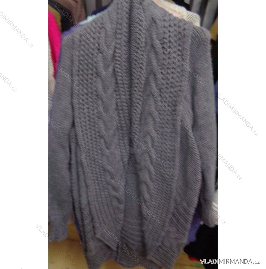 92e464e2aaf6 Cardigan pletený sveter teplý dámsky (uni sl) Talianska MODA IMC18204