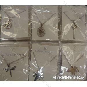 Súprava náhrdelník + náušnice dievčenské a dámsky (one size) bižutéria PB18054