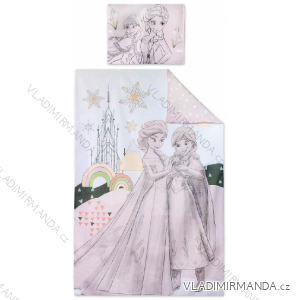 Obliečky frozen detské dievčenské (90 * 140cm; 40 * 55 cm) SETINO FR-H-BEDLINEN-04