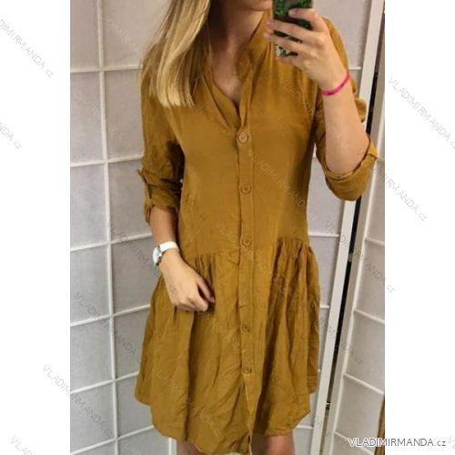 3540b86d983d Šaty košeľové 3 4 dlhý rukáv dámske (uni sl) TALIANSKÁ MÓDA IMC181243