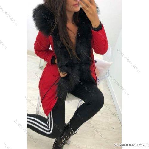 Kabát zimné parka s kožušinkou dámska (sl) KZELL TALIANSKÁ MÓDA 8135K-C 58105febd7