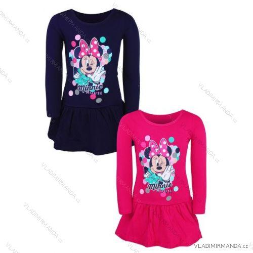 6f82397e400d Šaty dlhý rukáv minnie mouse detské dievčenské (98-128) SETINO MIN-G ...