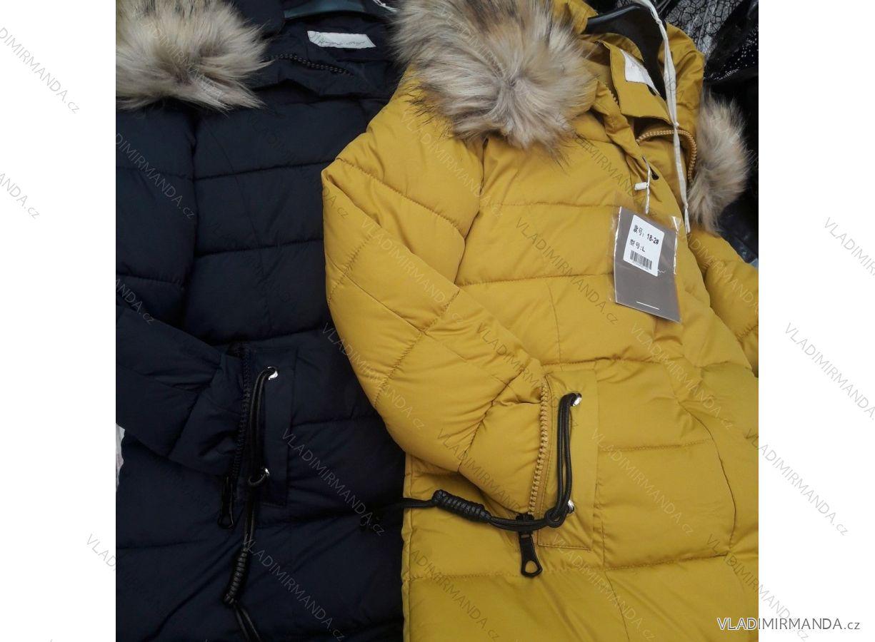 8dae2bde17 Kabát dlhý zimný dámsky (m-2xl) Poľsko MODA PM218018