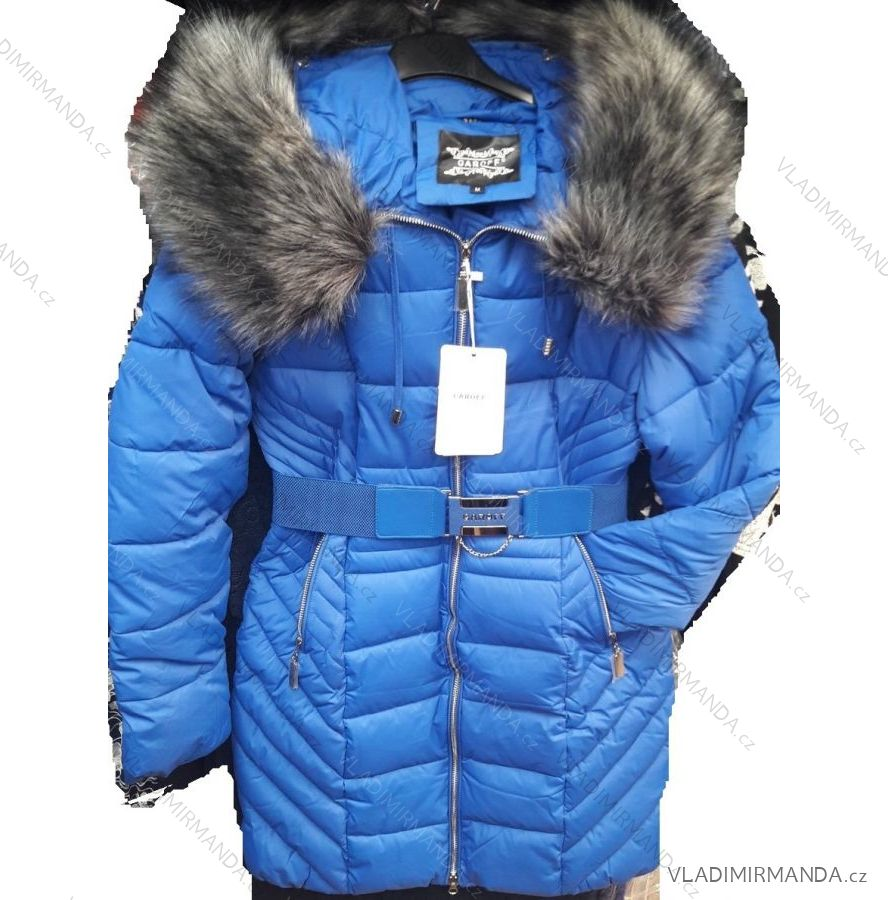 a1cac65a5096 Kabát dlhý zimný dámsky prešívaný vypasovaný strih (s-2xl) GAROFF polski  MODA PM2181859