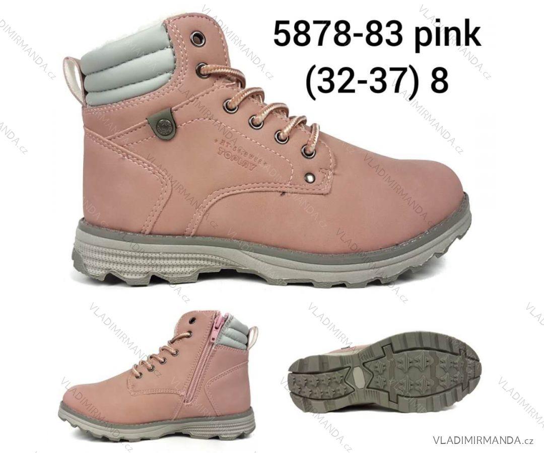 Topánky členkové detské dorast dievčenské (32-37) OBUV OBT185878   2 ... ffd75203290