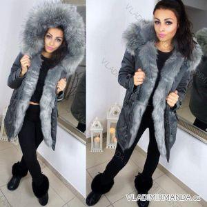 Kabát zimné parka s kožušinkou dámska (sl) KZELL TALIANSKÁ MÓDA 8035K-C c8684502bf6