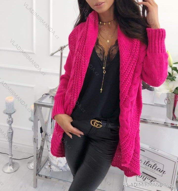 a8e7628adadf Cardigan pletený sveter teplý dámsky (uni sl) Talianska MODA IMC18204