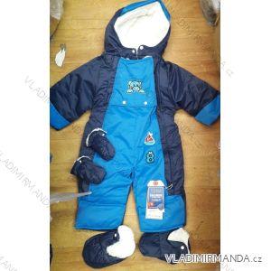 Kombinéza zimná nepremokavá šuštiaková dojčenská a detská dievčenská a chlapčenská (24-30) TM21826