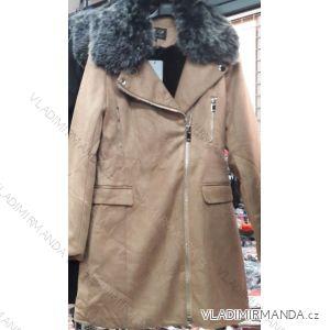 e3771f89e5e0 Kabát brúsená koženka s kožušinkou dámska (s-xl) FRANCÚZSKO IMT18803