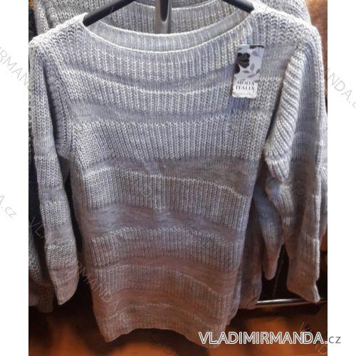 a3dbd63209d1 Šaty   sveter pletené dlhý rukáv dámske (uni sl) TALIANSKÁ MÓDA IM418769