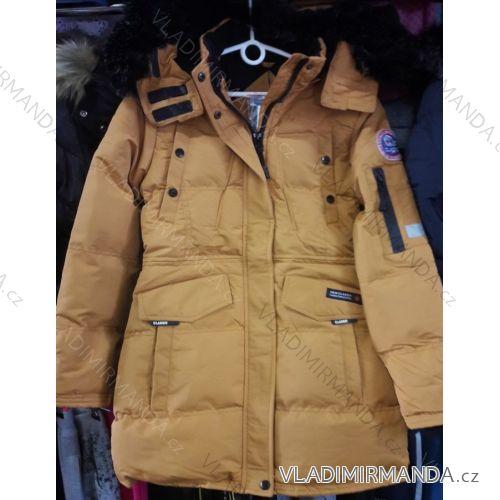 Bunda   kabát detský dorastový dievčenské (8-16 rokov) GRACE G82002 ... 3a8b338216e