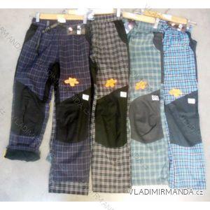 Nohavice plátené outdoorové teplej flaušová podšívka detské chlapčenské (98-128) NEVEREST FT-4991CC