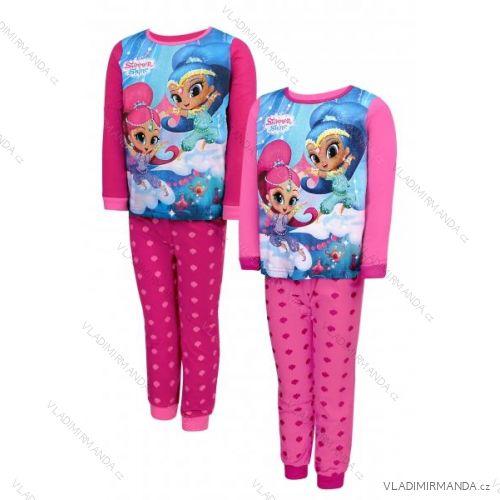 8b9694b99 Pyžamo dlhé teplé shimmer and shine detské dievčenské (98-128) SETINO 833-