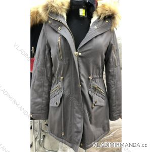 Kabát parka dámska teplá s kožušinkou s-west fashion (xs-xl) LEU181303 0f4a261426