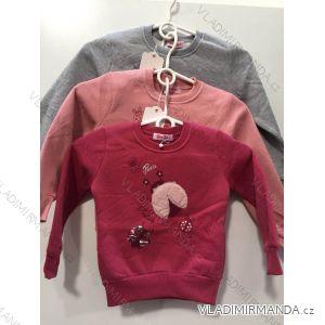 Mikina teplá dojčenská detská dievčenské (1-5let) YOUYI RX-18043