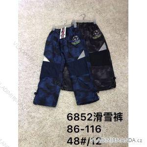 Nohavice / tepláky zateplené dojčenské detské chlapčenské (86-116) ACTIVE SPORT ACT186852