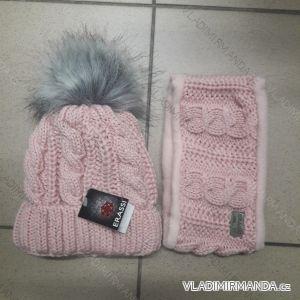 Set čiapky a nákrčník zimné detský dievčenský (uni) POĽSKO PV618058