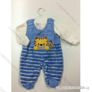 Komplet (dupačky, mikina) dojčenský dievčenský a chlapčenský (0-12 mesiacov) SOFA TURECKO PV118177