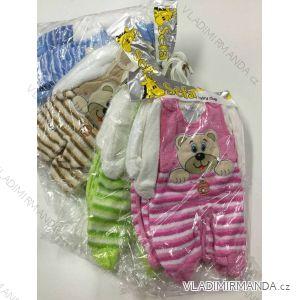 Komplet (dupačky, mikina) dojčenský dievčenský a chlapčenský (0-12 mesiacov) SOFA TURECKO PV118178