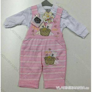 Komplet (traky, kabátik) dojčenský dievčenský a chlapčenský (62-68) Bebek TURECKO PV118180