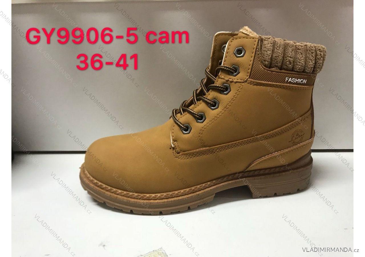Topánky členkové zateplené zimné dámske (36-41) OBUV RIS18GY9906 ... 7f3755df003