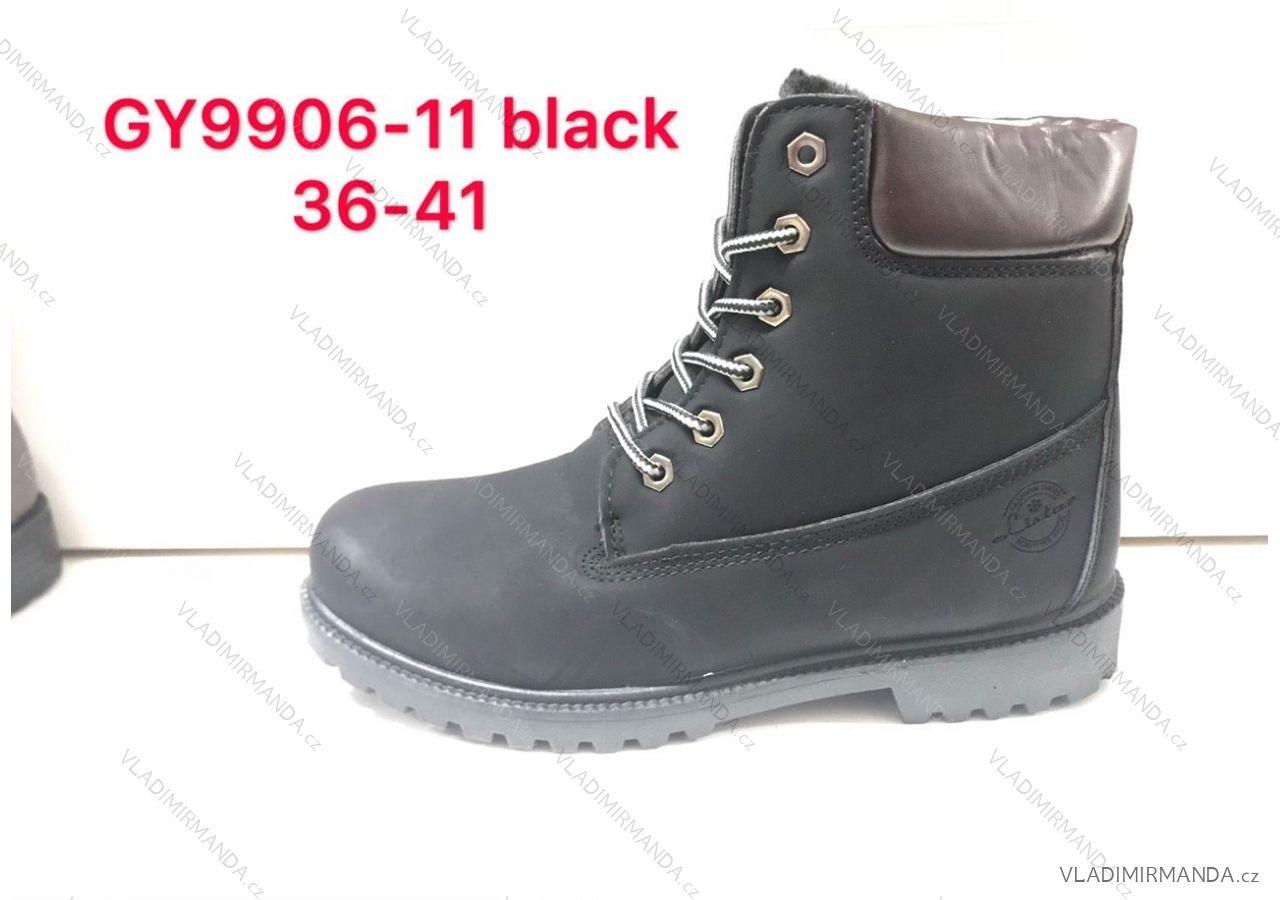 Topánky členkové WORKERY zateplené zimné dámske (36-41) OBUV RIS18GY9906   2 ca49395b6fd