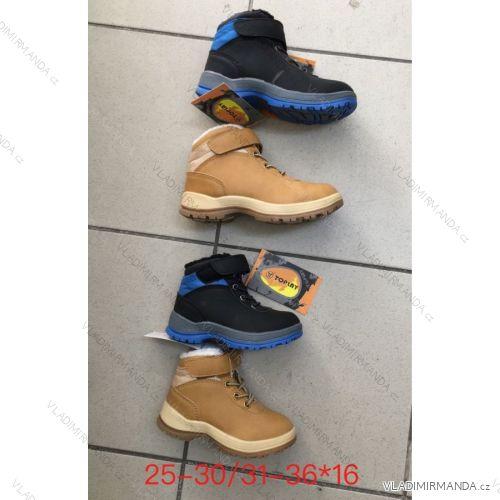 Topánky zimné členkové detské dorast chlapčenské (31-36) OBUV OBT18241 bc38694bd84
