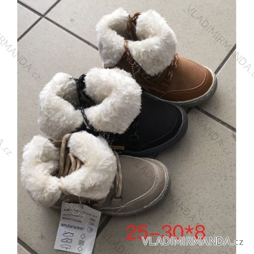 Topánky zimné členkové detské dorast dievčenské a chlapčenské (25-30) OBUV  OBT18245 cdb13c34df8