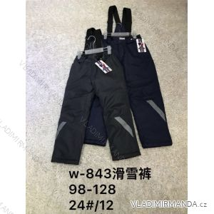 e63b2ec01 Nohavice zimné lyžiarske oteplovačky detské chlapčenské (98-128) ACTIVE  SPORT ACT18W-843
