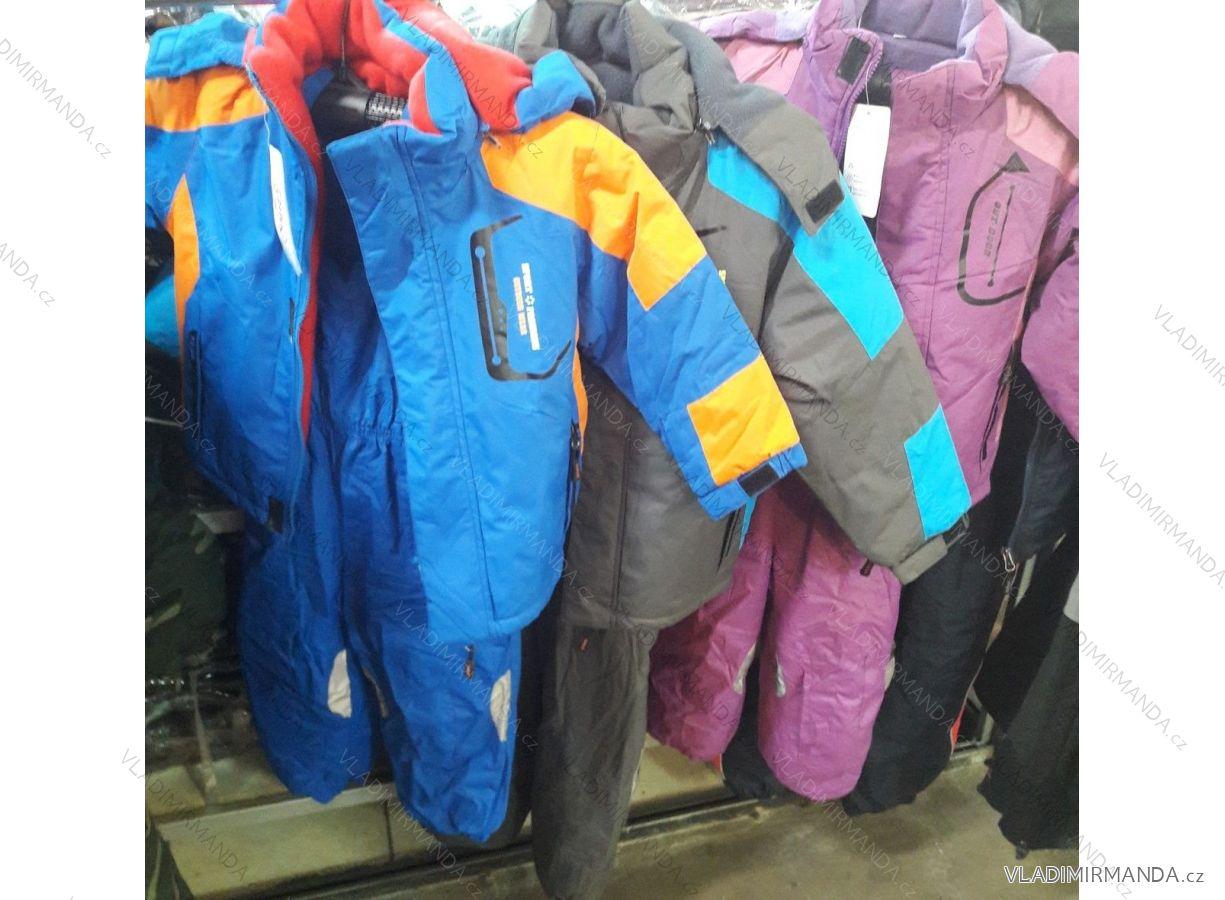 e60c574521098 Súprava bunda a oteplovačky zimná detská dievčenská a chlapčenská (98-128)  QUIFENG AOL18X0410