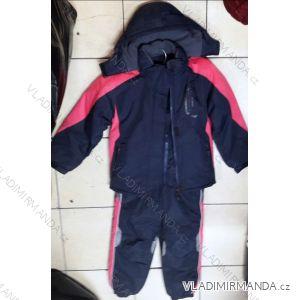 fbc0336b6e41e Súprava bunda a oteplovačky zimná detská ambulancia dievčenská a  chlapčenská (134-164) QUIFENG