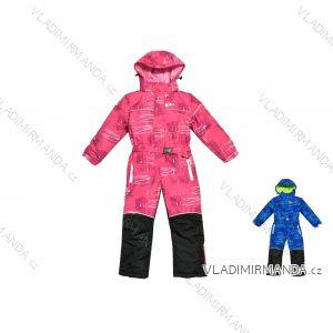 41553759d Kombinéza zimná lyžiarska šuštiaková detská dorast dievčenský a chlapčenský  (104-140) KUGO B302