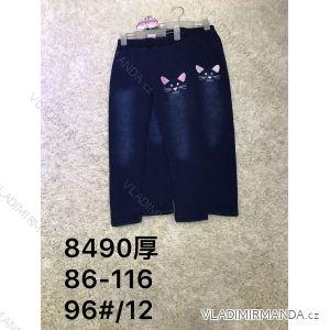 Legíny jeans teplé detské dorast dievčenské (86-116) ACTIVE SPORT ACT188490