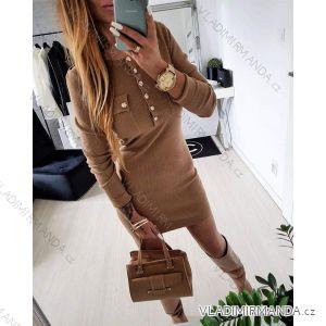 Šaty dlhý rukáv dámske (uni sl) TALIANSKÁ MÓDA IMT18929 c13ee0bb8ec
