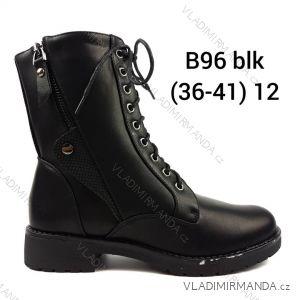 61014beef2 Topánky nadkotníkové zateplené kožúšok šnurovacie na zips dámske (36-41)  OBUV OBT18B96