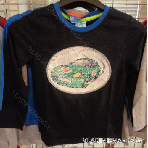 Tričko dlhý rukáv detské chlapčenské (98-128) VOGUE IN 71609