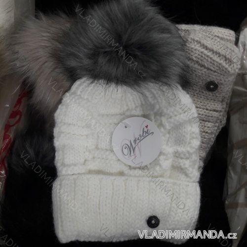 14e5c400a9 Čiapky zimné kožušinová brmbolce dámska a dorast (uni) WROBI POĽSKO PV918215