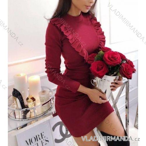 66b67eaa8d82 Šaty elegantné dlhý rukáv dámske (uni s-m) TALIANSKÁ MÓDA IMT18620 ...