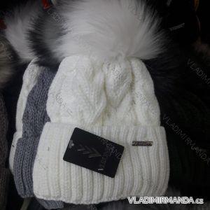 Čiapky zimné pletená dámska (uni) Veronica POĽSKO PV418247 d21856c5d41