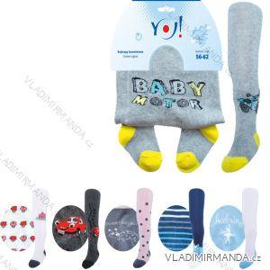 Pančucháče dojčenské dievčenské chlapčenské (56-86) YO RA-03