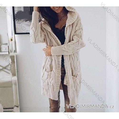 4e14554e58ae Cardigan pletený sveter dlhý rukáv dámsky (uni s   m   l) TALIANSKÁ MÓDA