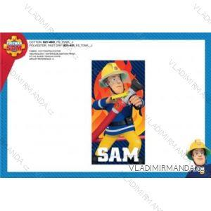 Osuška plážová požiarnik sam detská chlapčenská (70 x 140 cm) SETINO 821-450