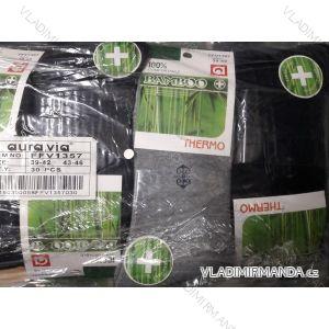Ponožky teplé thermo zdravotní dámské pánské bambusové (39-46) AURA.VIA FFV1357