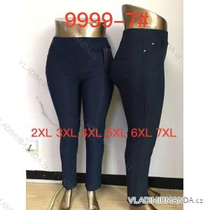kalhoty dlouhé dámské nadrozměrné (2xl-7xl ) ELEVEK 9999-7