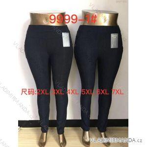 kalhoty dlouhé dámské nadrozměrné (2xl-7xl ) ELEVEK 9999-1