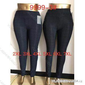 kalhoty dlouhé dámské nadrozměrné (2xl-7xl) ELEVEK 9999-3
