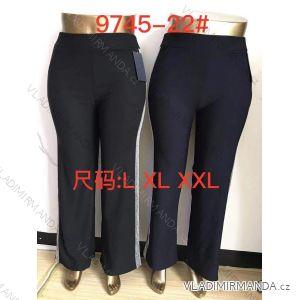 kalhoty dlouhé dámské nadrozměrné (2xl-7xl) ELEVEK 9745-22